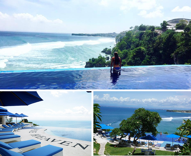 Blue Heaven, hotspots in uluwatu