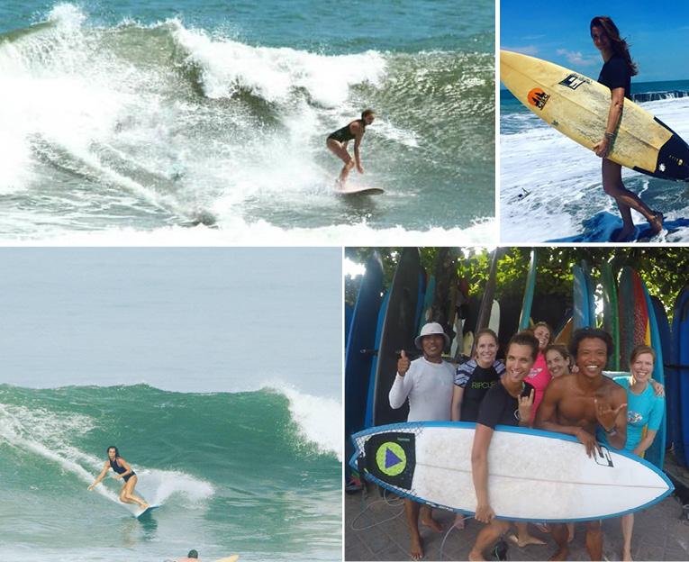Canggu surfen, sporten in canggu