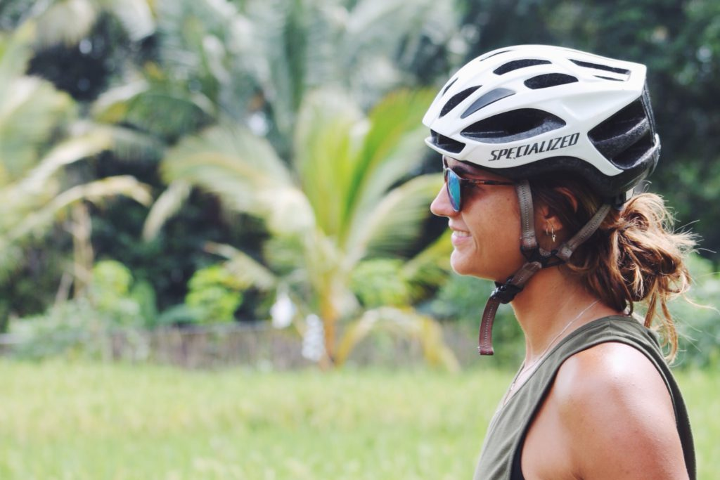 Mountainbike tour bali bike park, Daisy