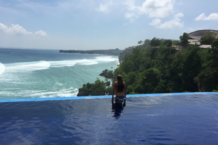 hotspots in uluwatu mirte, blue heaven