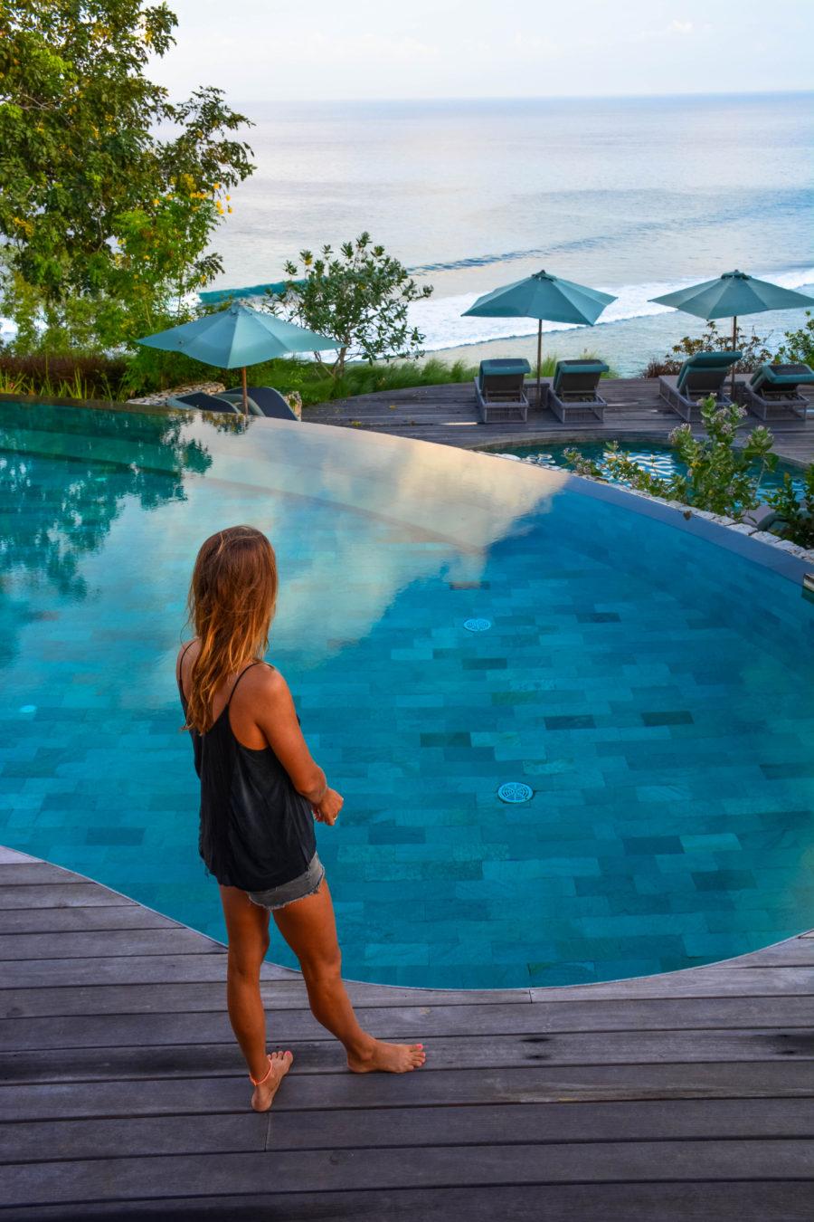 Suarga padang padang, Zwembaden op Bali