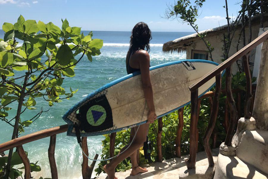 Rock 'n Reef, Uluwatu Bali, daisy, surf