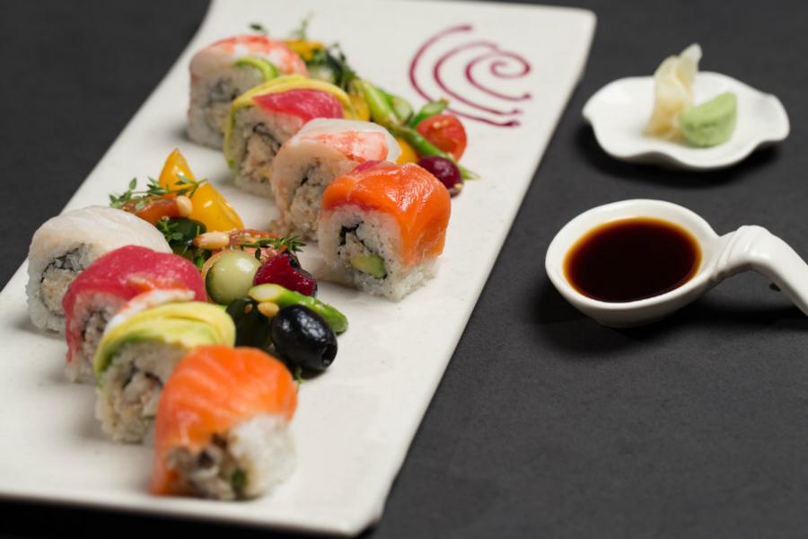 beste sushi van canggu JI