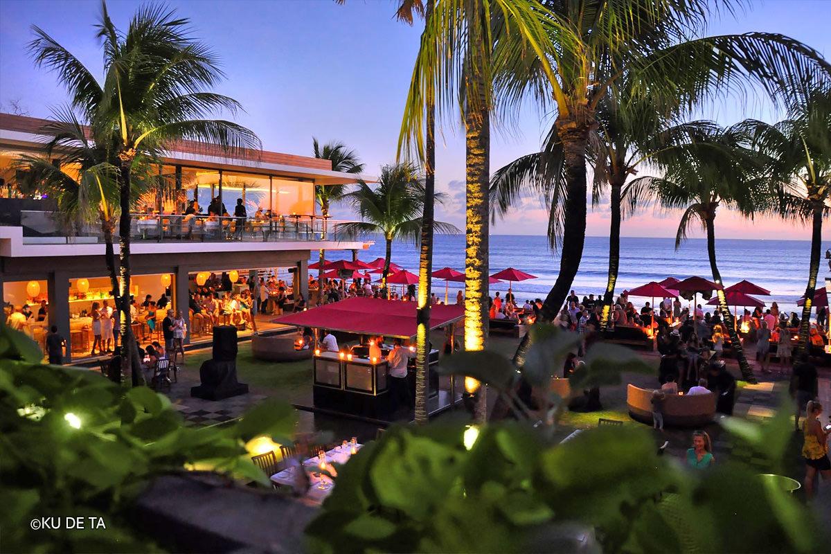 kudeta bali, beste beach clubs van bali