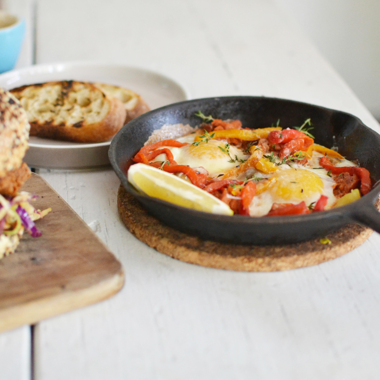 eten in berawa, milk and madu, berawa canggu bali, eieren