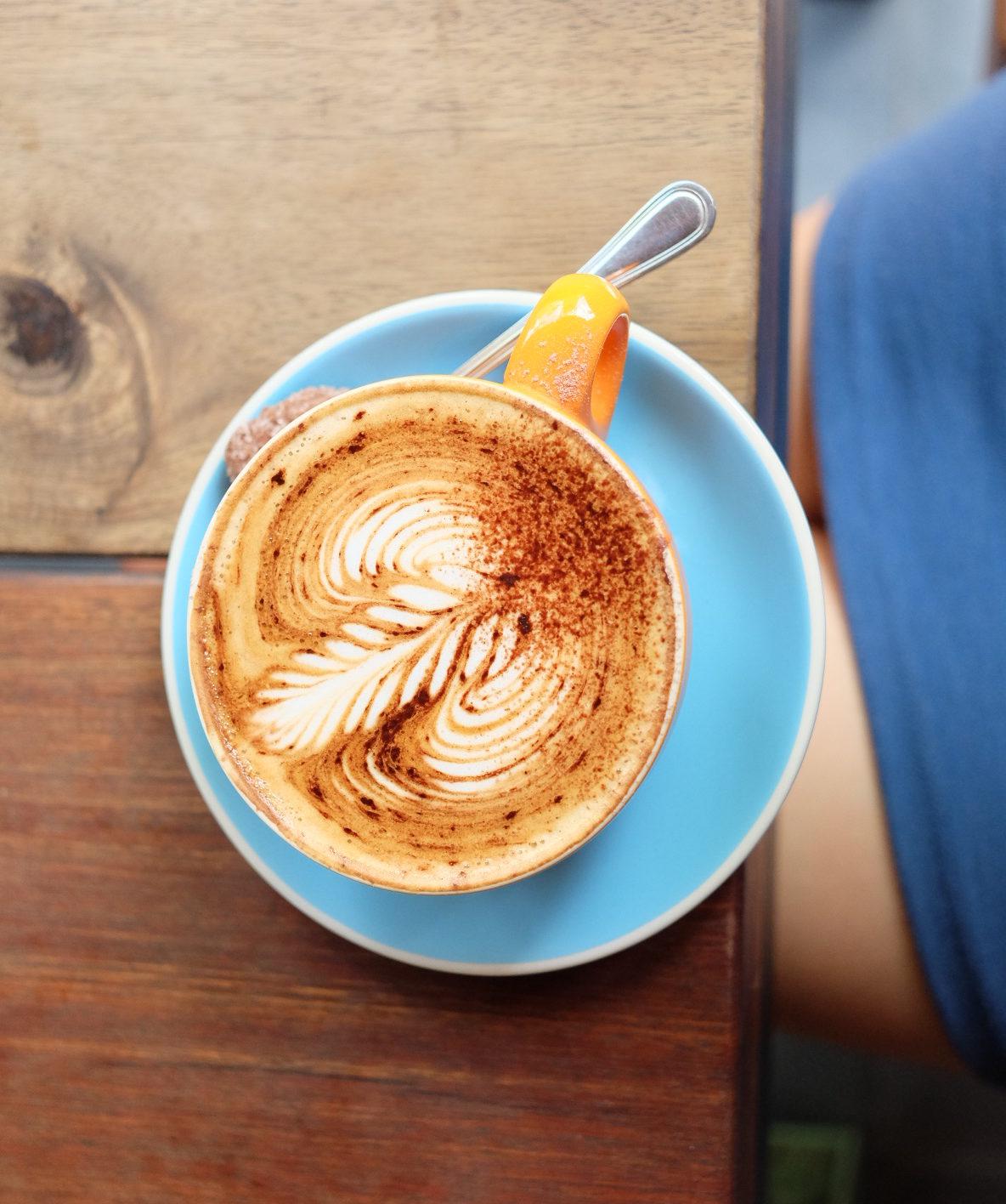 cappuccino, milk and made berawa bali, eten in berawa