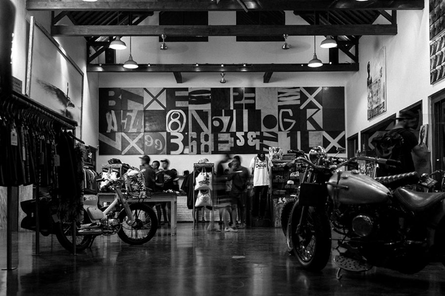Deus, shops in canggu