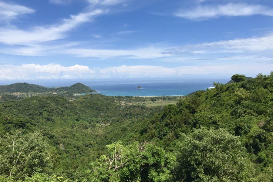 lombok, uitzicht