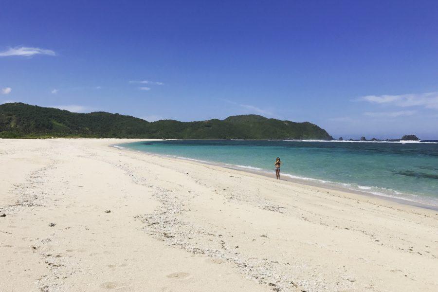 lombok, strand