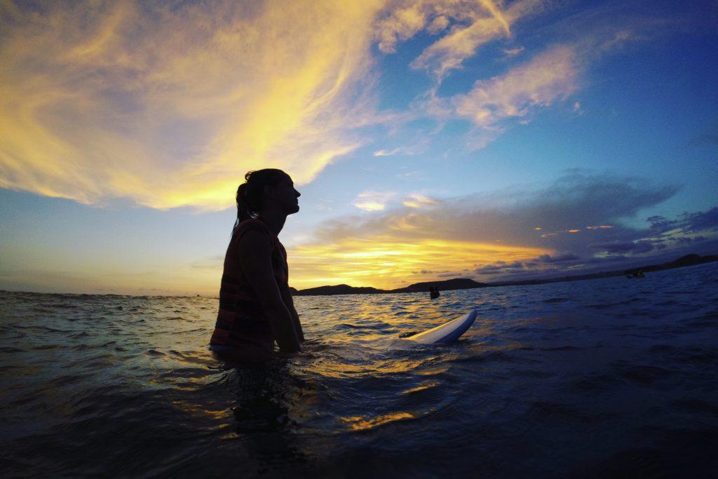 surfen in lombok, daisy