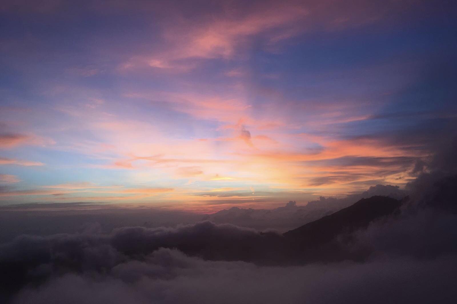 sunrise hike mount batur, zonsopgang batur vulkaan bali