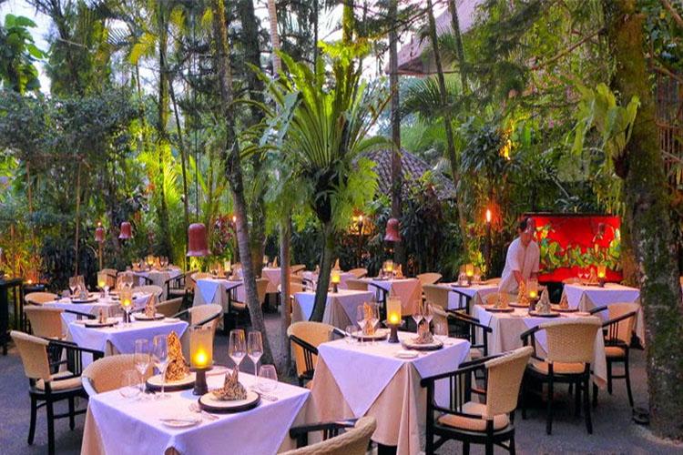 Mozaic restaurant ubud bali