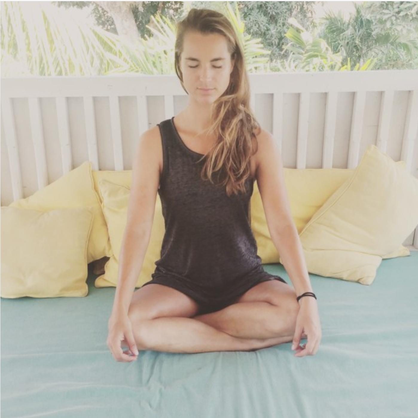 mindfulness op bali, daisy